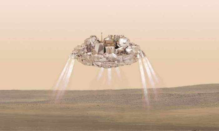Schiaparelli - Espera-se que a sinda possa achar explicações para a origem do metano na atmosfera do planeta.