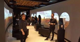 Samsung Vivo loja virtual Gear VR