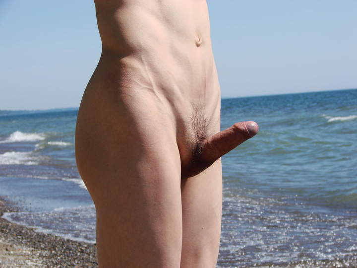 couple with erection nude beach