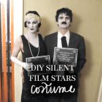 DIY Silent Film Stars Halloween Costume for Couples - Thumbnail