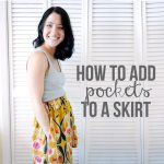 How to Add Pockets to a Skirt Shrimp Salad Circus 1