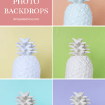 DIY Colorful Photo Backdrops