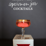 Specimen Jar Halloween Cocktails