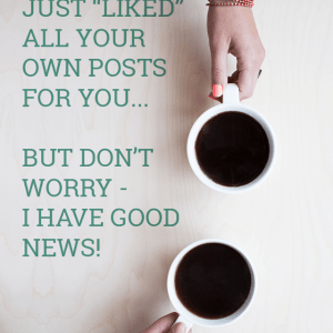 Facebook Glitch - Liking All Your Own Posts