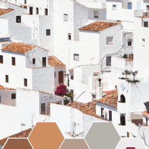Color Inspiration - Terra Cotta Rooftops