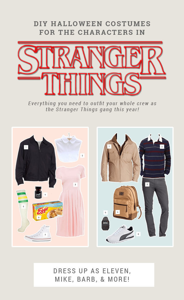 Stranger Things Halloween Costume Ideas
