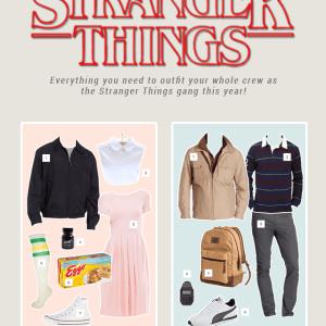 DIY Stranger Things Halloween Costume Ideas