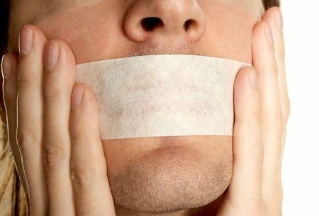 silence man