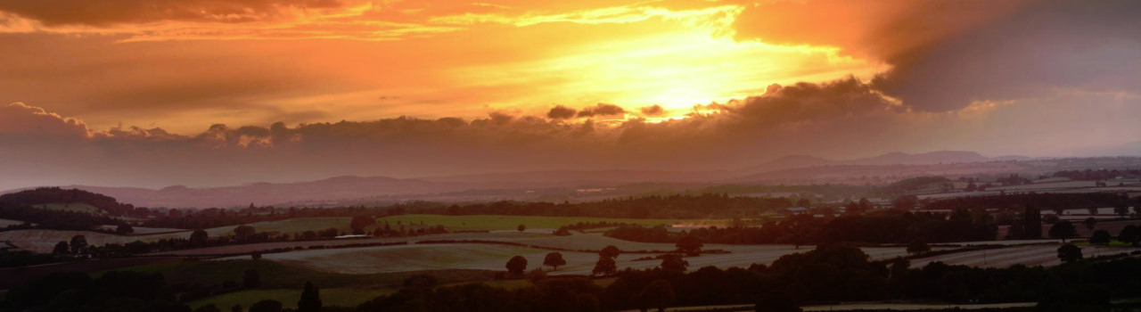 Much Wenlock Sunset-by-sabine