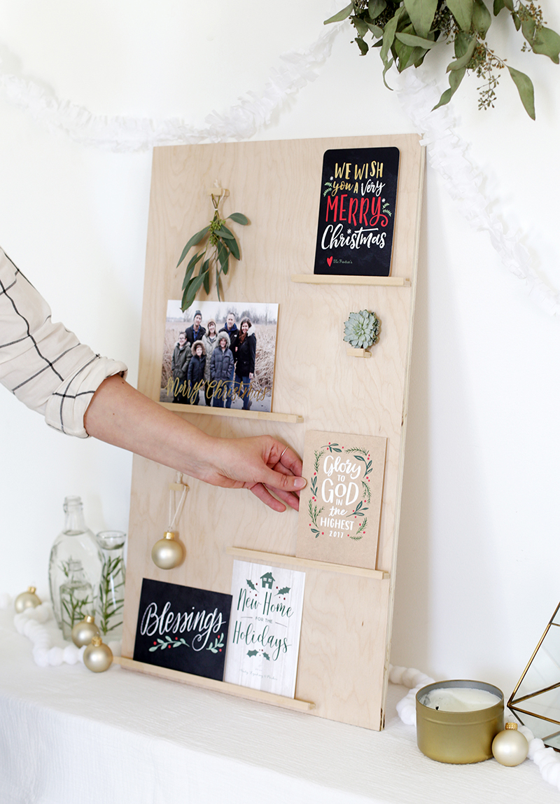 Comely Cards On Diy Wood Display Project Diy Card Her Using Wood Shutterfly Card Hers Wall Card Her Argos cards Christmas Card Holder
