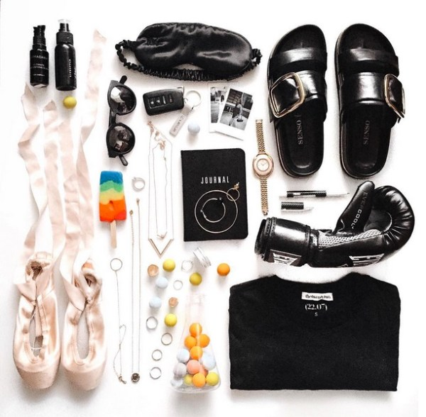 flat lay photo margaret zhang
