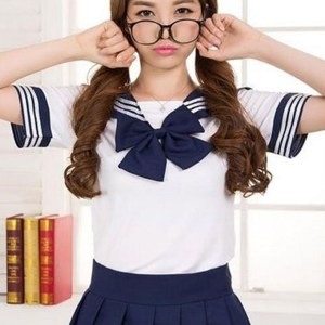 Japanese School Girl Uniform Shut Up And Take My Yen : Anime & Gaming Merchandise