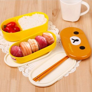 Rilakkuma Bento Lunch Box Shut Up And Take My Yen : Anime & Gaming Merchandise