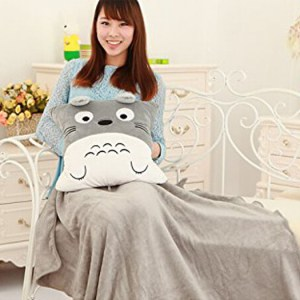 Totoro Pillow Pet With Blanket Inside Shut Up And Take My Yen : Anime & Gaming Merchandise