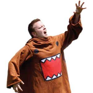 Domo Snuggie Domo-Kun Shut Up And Take My Yen : Anime & Gaming Merchandise