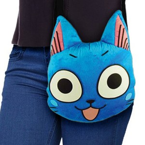 Fairy Tail Happy Plush Bag Shut Up And Take My Yen : Anime & Gaming Merchandise