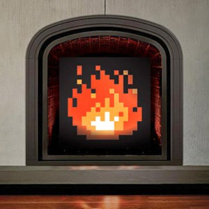 8-Bit Fireplace Shut Up And Take My Yen : Anime & Gaming Merchandise