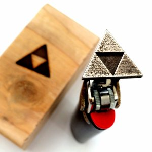 Legend of Zelda Triforce Lighter Brand Shut Up And Take My Yen : Anime & Gaming Merchandise