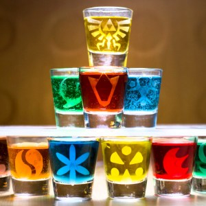 Legend Of Zelda Shot Glass Set
