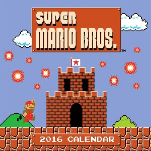 Super Mario Bros Calendar 2016 Shut Up And Take My Yen : Anime & Gaming Merchandise