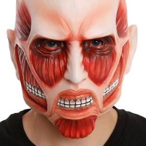 Attack On Titan Colossal Titan Mask Shut Up And Take My Yen : Anime & Gaming Merchandise