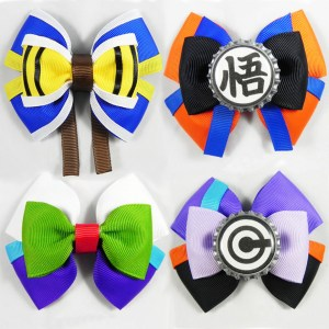 Dragon Ball Z Hair Bows Shut Up And Take My Yen : Anime & Gaming Merchandise