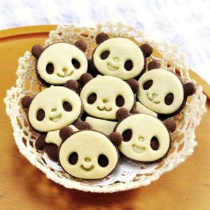 Panda Cookie Cutter Set Shut Up And Take My Yen : Anime & Gaming Merchandise