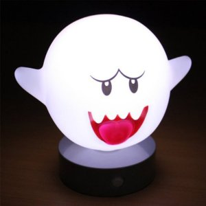 Super Mario Motion Sensor Boo Lamp Shut Up And Take My Yen : Anime & Gaming Merchandise