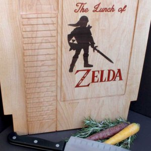 Legend Of Zelda Cutting Board