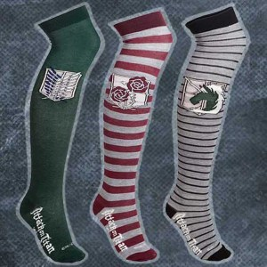 Attack On Titan Long Socks