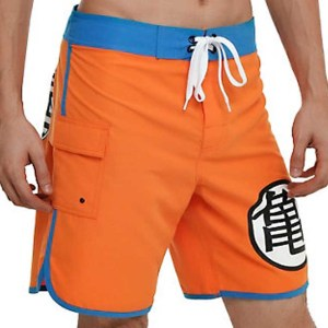 Dragon Ball Z Swim Trunks