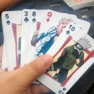 Naruto Playing Cards