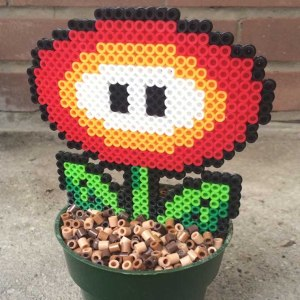 Super Mario Fire Flower Plant