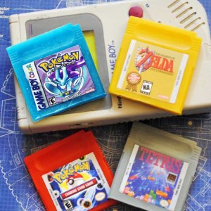 GameBoy Cartridge Soap