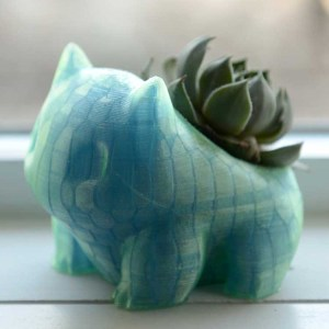 Pokemon Shiny Bulbasaur Planter