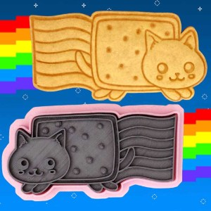 Nyan Cat Cookie Cutter