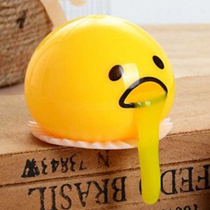 Gudetama Vomiting Egg