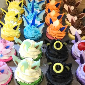 Pokemon Cupcake Bath Bombs