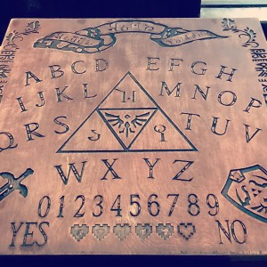 Legend Of Zelda Ouija Board