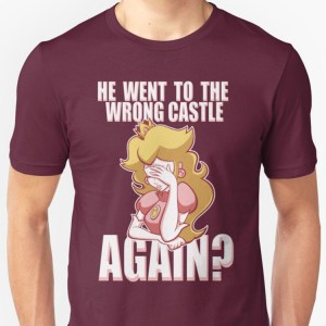 Super Mario Bros Wrong Castle T-Shirt