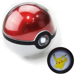 Pokemon Pokeball Projector Phone Charger