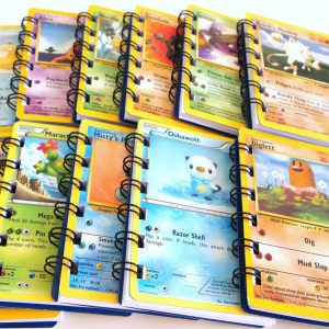 Pokemon Card Notebooks