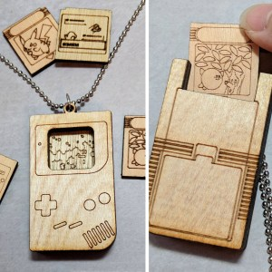 Customizable Game Boy Necklace
