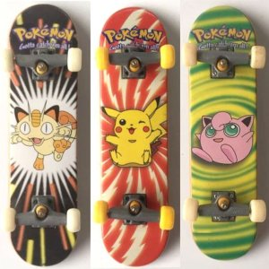 Vintage Pokemon Mini Skateboards
