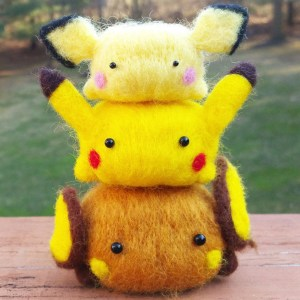 Needle Felt Pokemon