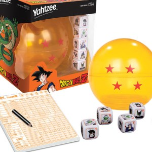 Dragon Ball Z Yahtzee Game