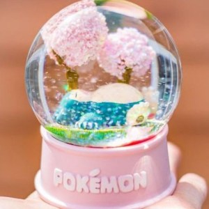 Pokemon Snow Globes