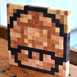 Super Mario 1-Up Cutting Board