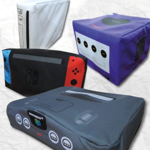 Nintendo Console Dust Covers