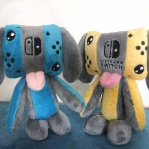 Nintendo Switch Dog Plush